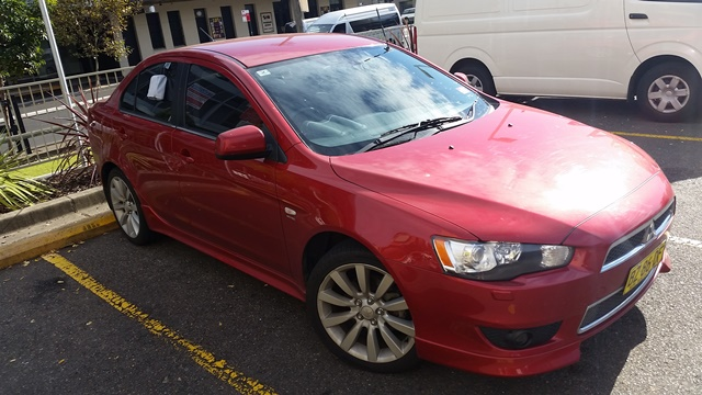 Picture of Chris' 2009 Mitsubishi Lancer