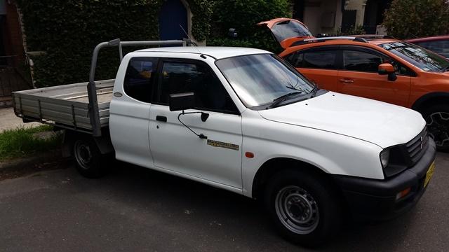 Picture of David's 2000 Mitsubishi Triton