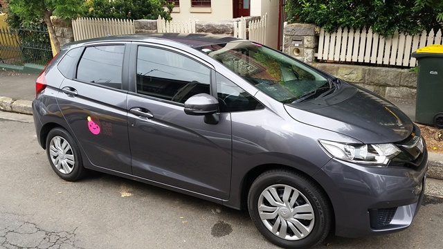 Picture of Jessica's 2015 Honda Jazz