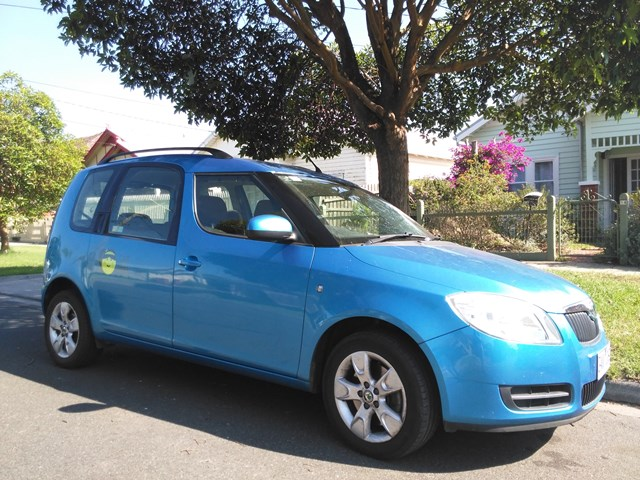 Picture of Nina's 2008 Skoda Roomster