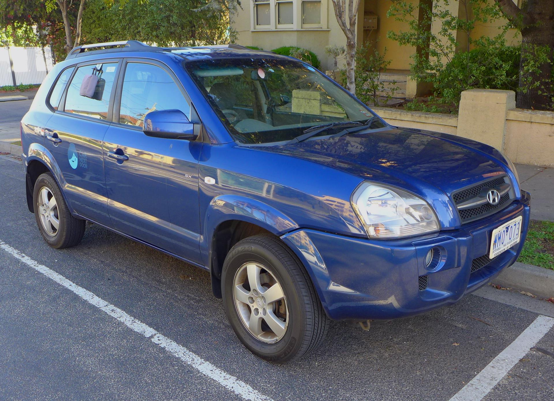 Picture of Matthew's 2008 Hyundai Tucson