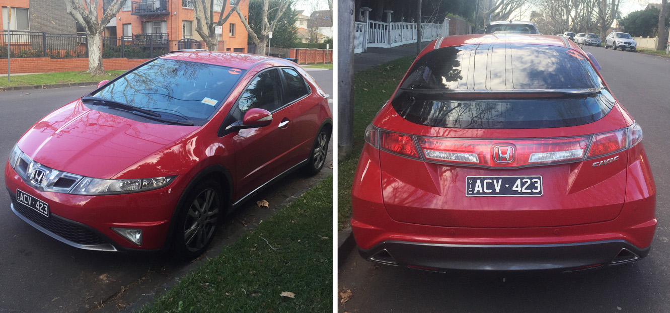 Picture of Carrie's 2010 Honda Civic Si