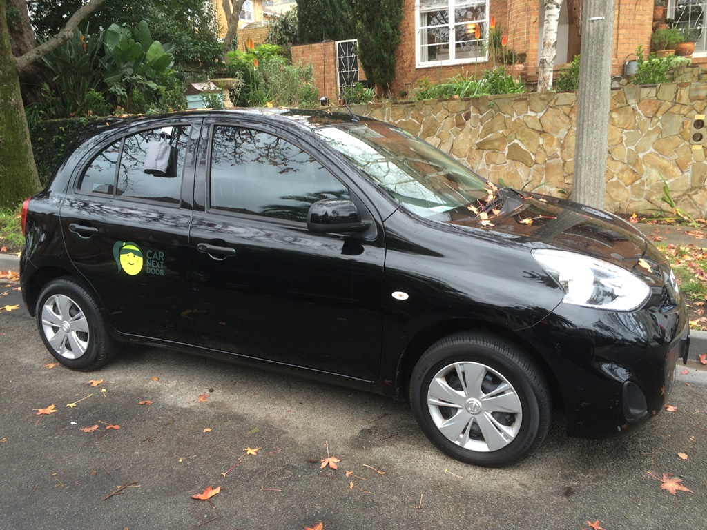 Picture of Hannah's 2015 Nissan micra