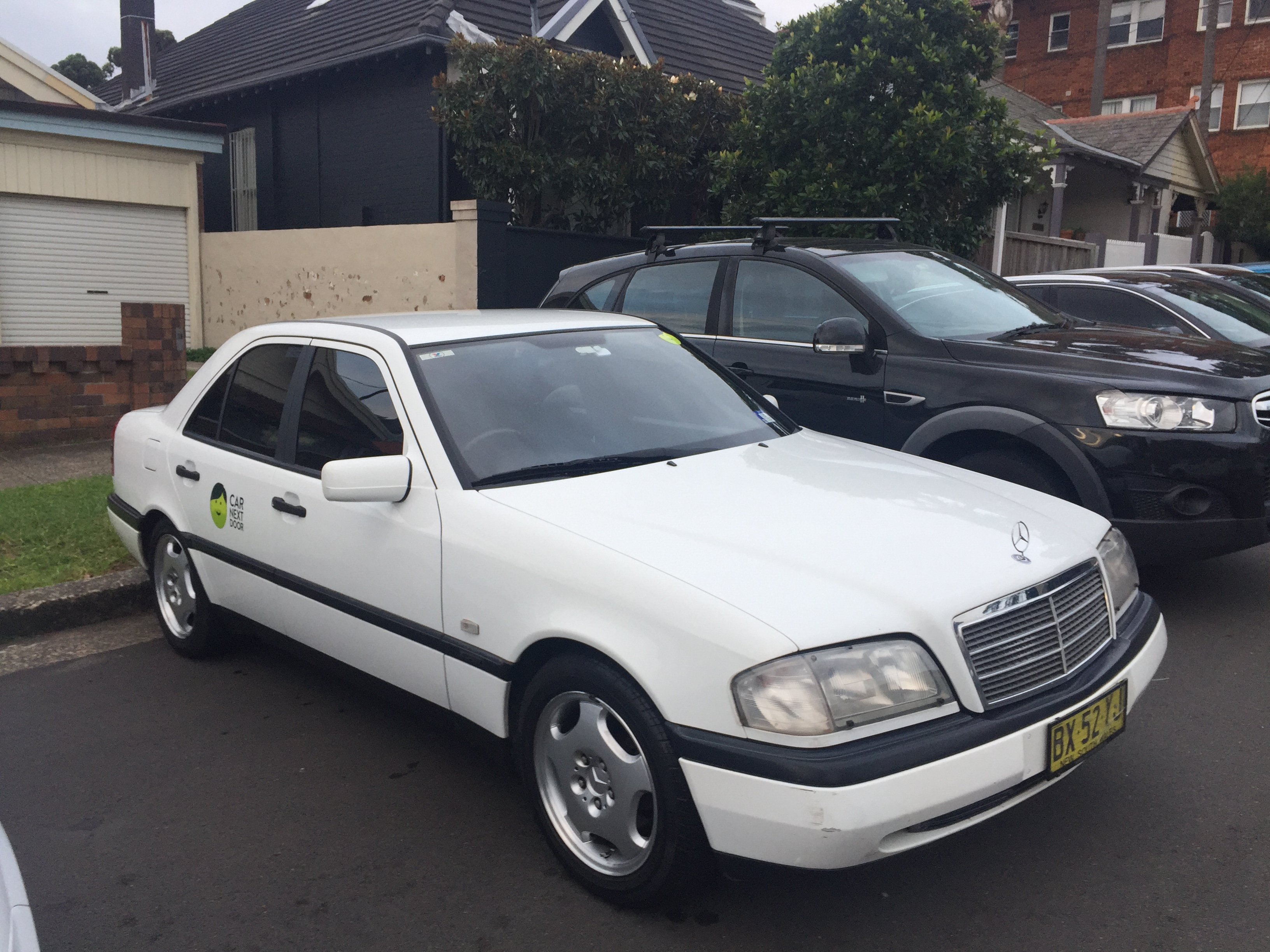 Picture of Robert's 1996 Mercedes C200
