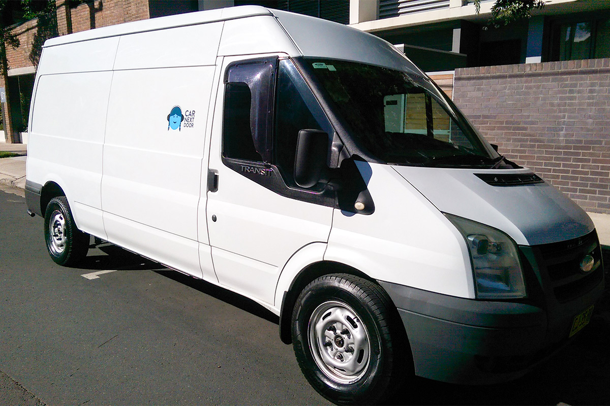 Picture of Van's 2008 Ford Transit Large Capacity