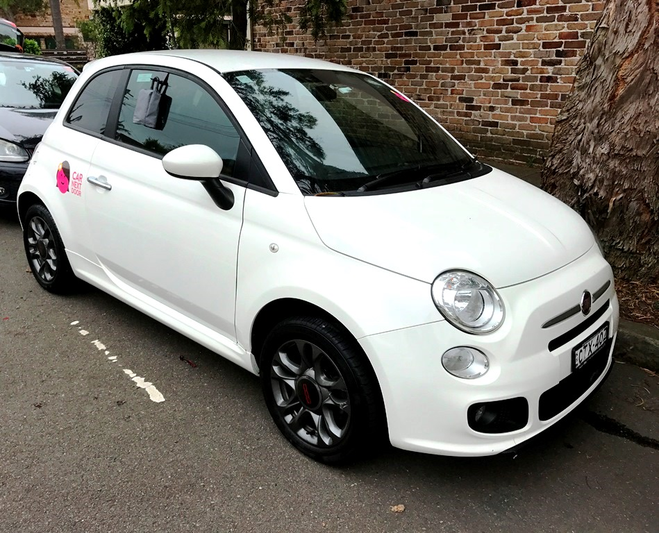 Picture of Maddison's 2014 FIAT 500s