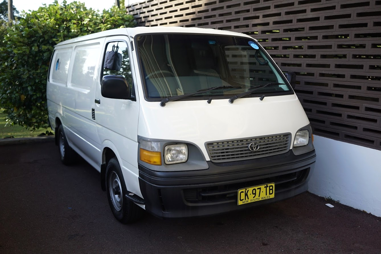 Picture of Tony's 1999 Toyota Hiace