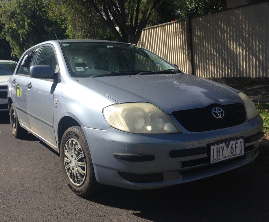 Picture of Fiona's 2002 Toyota Corolla