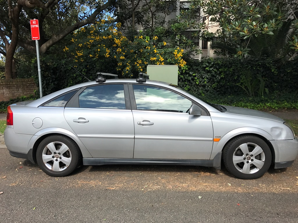 Picture of Ned's 2003 Holden Vectra