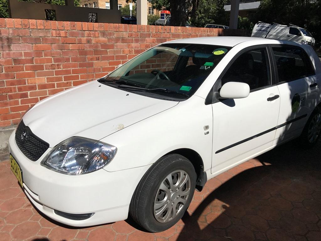 Picture of Pamela's 2003 Toyota Corolla