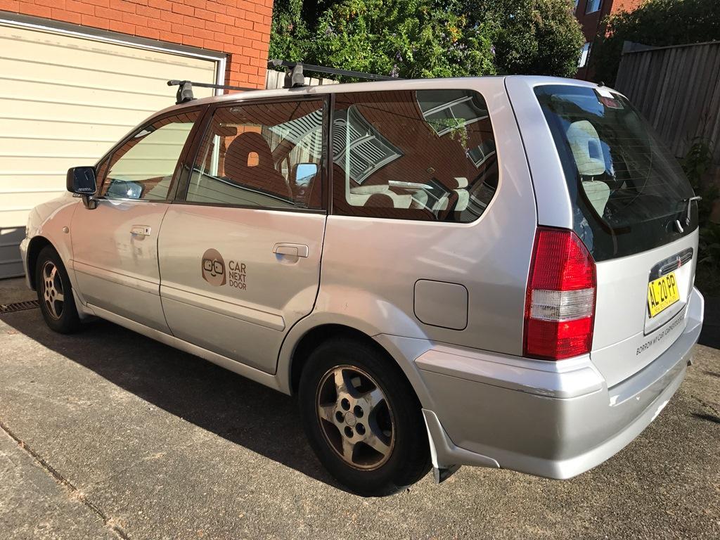 Picture of Caroline's 2001 Mitsubishi Nimbus