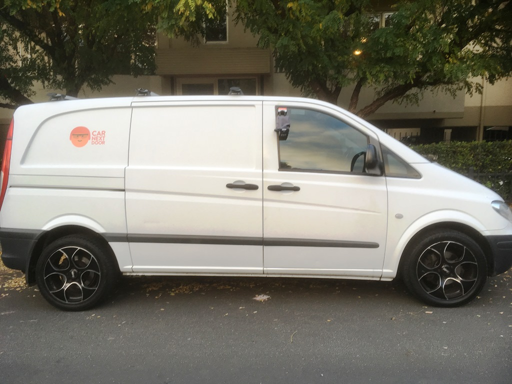 Rent Steven S 2005 Mercedes Vito By The Hour Or Day In