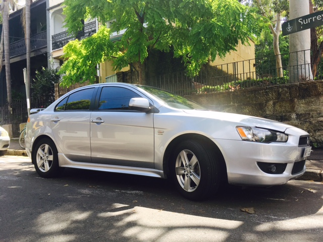Picture of Brianna's 2008 Mitsubishi Lancer