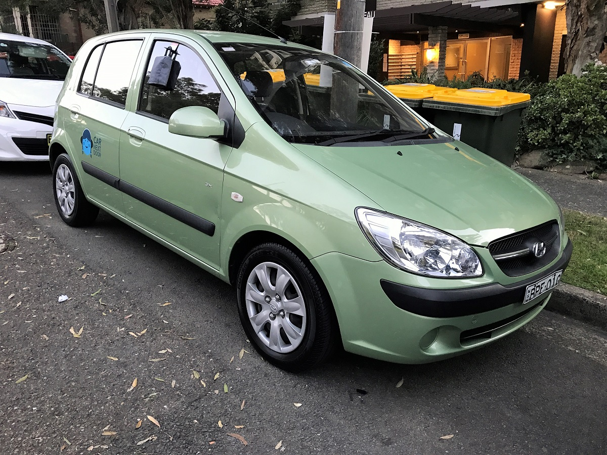 Picture of Gillian's 2010 Hyundai Getz