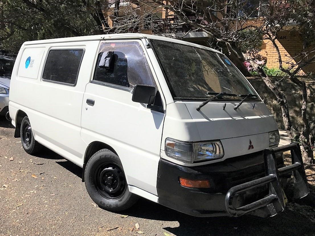 Picture of David's 2003 Mitsubishi Express Van