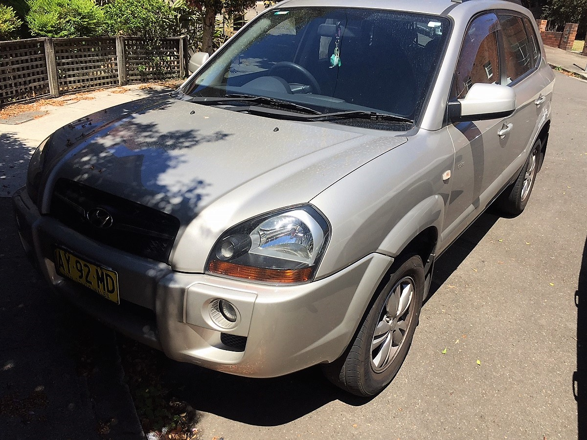 Picture of Kumsil's 2008 Hyundai Tucson