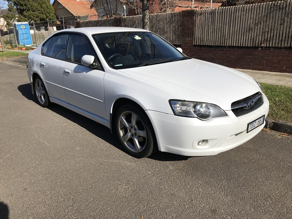 Picture of Ronaldo's 2004 Subaru Liberty