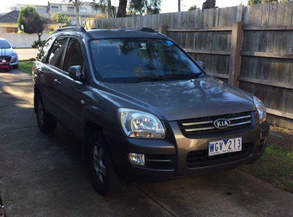 Picture of Santosh's 2008 Kia Sportage