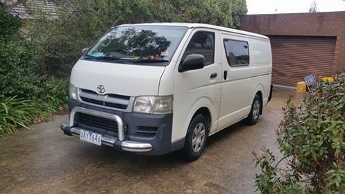 Picture of Kathryn's 2006 Toyota Hiace