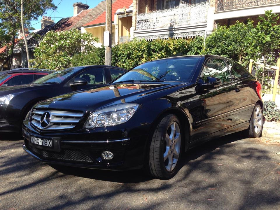 Picture of Dean's 2010 Mercedes CLC200 Coupe