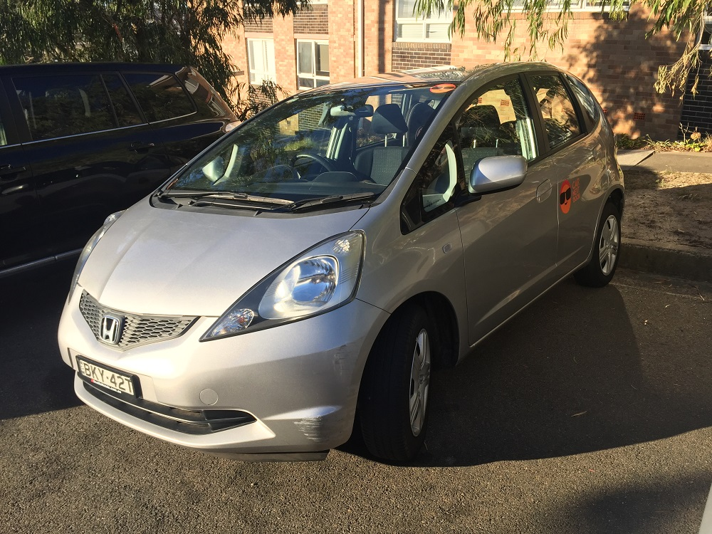 Picture of Karin's 2009 Honda Jazz