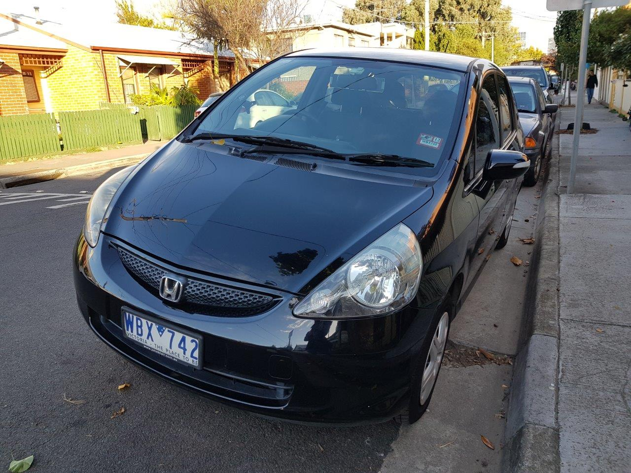 Picture of Patience's 2007 Honda Jazz