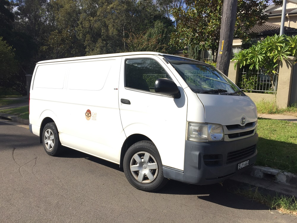 Picture of Jiwu's 2008 Toyota HIACE