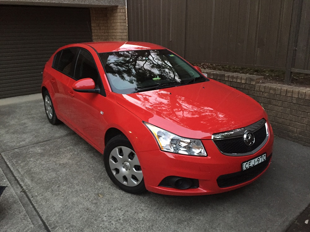 Picture of Kin Wah's 2012 Holden Cruze