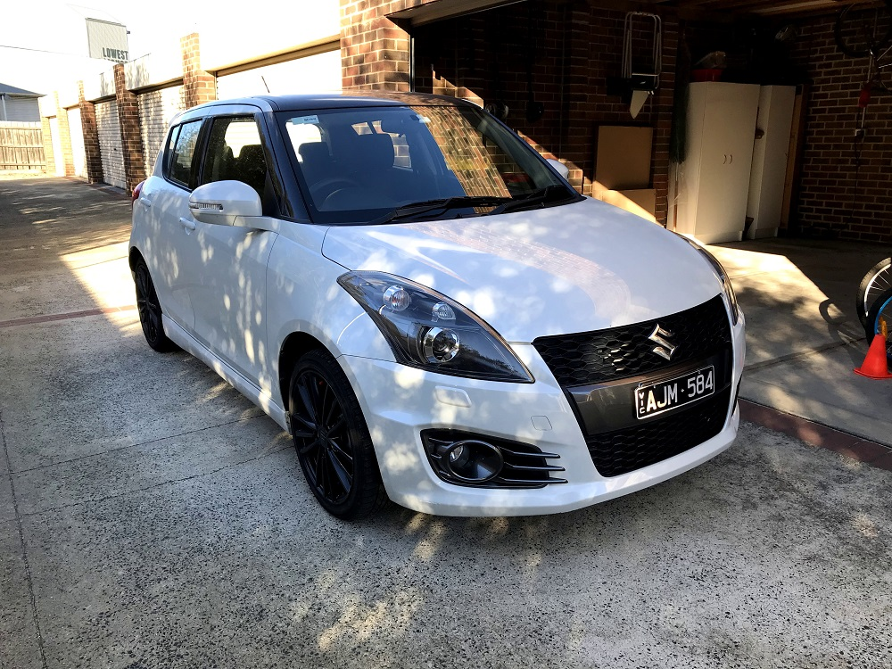 Picture of Garth's 2016 Suzuki Swift Sport
