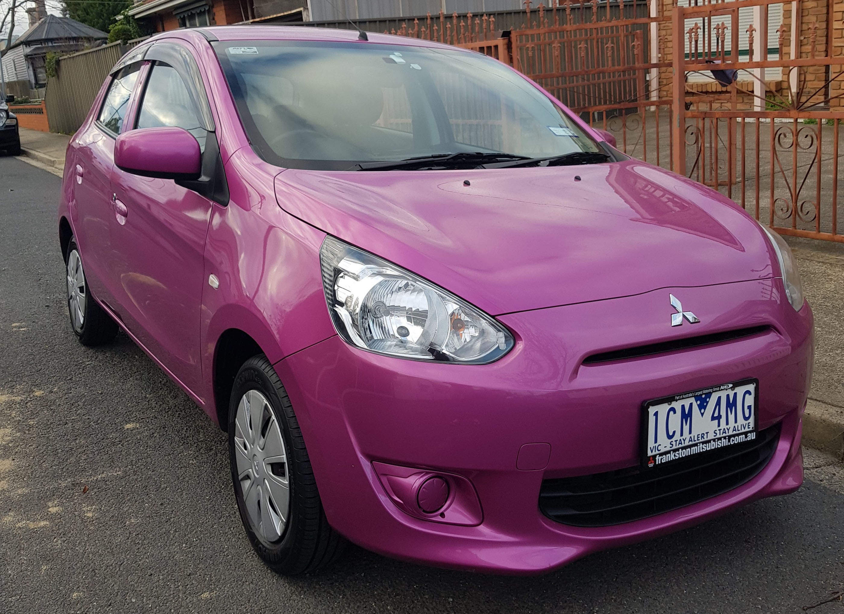 Picture of Daniel's 2014 Mitsubishi Mirage ES LA