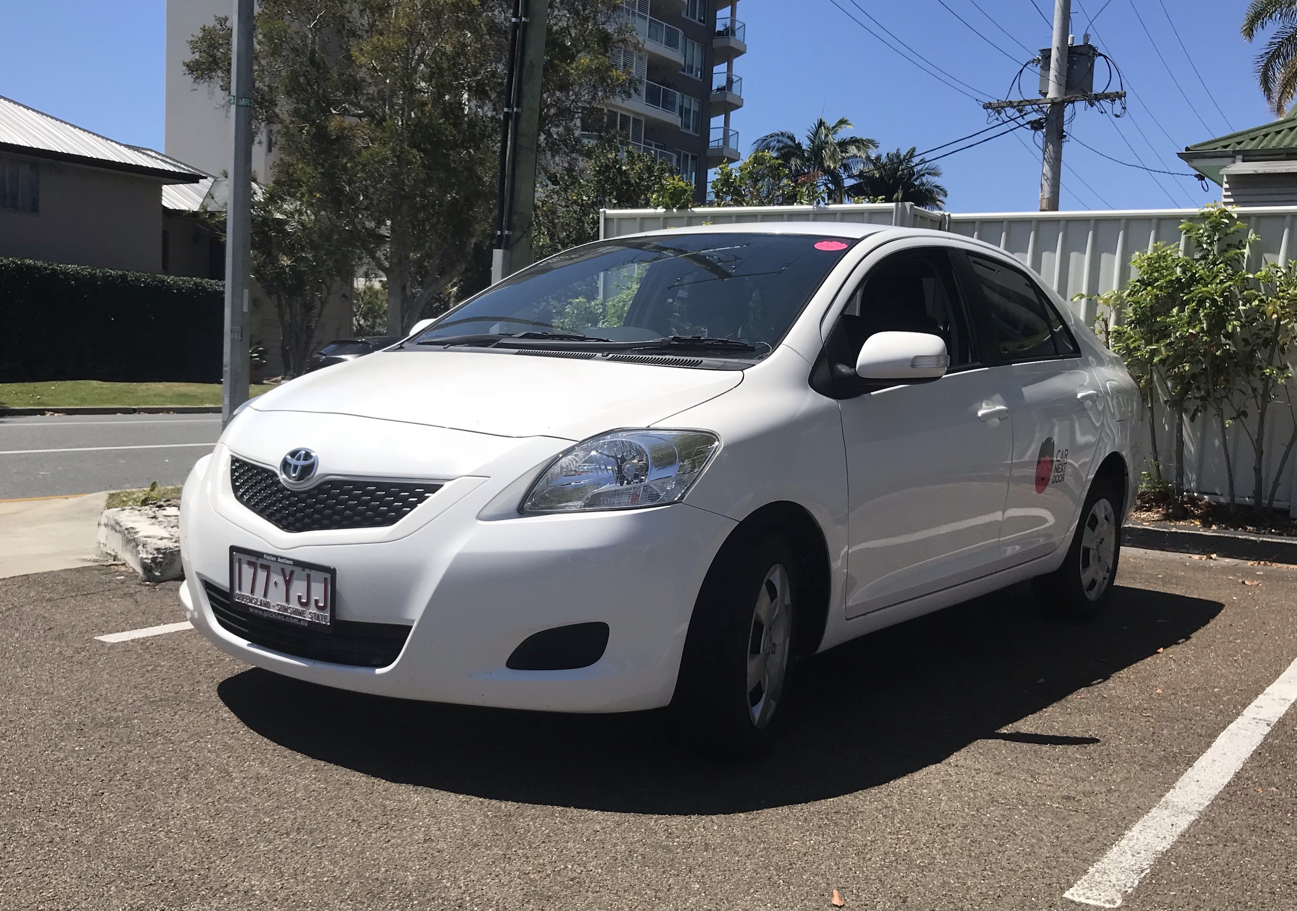 Picture of Peter's 2013 Toyota Yaris Sedan