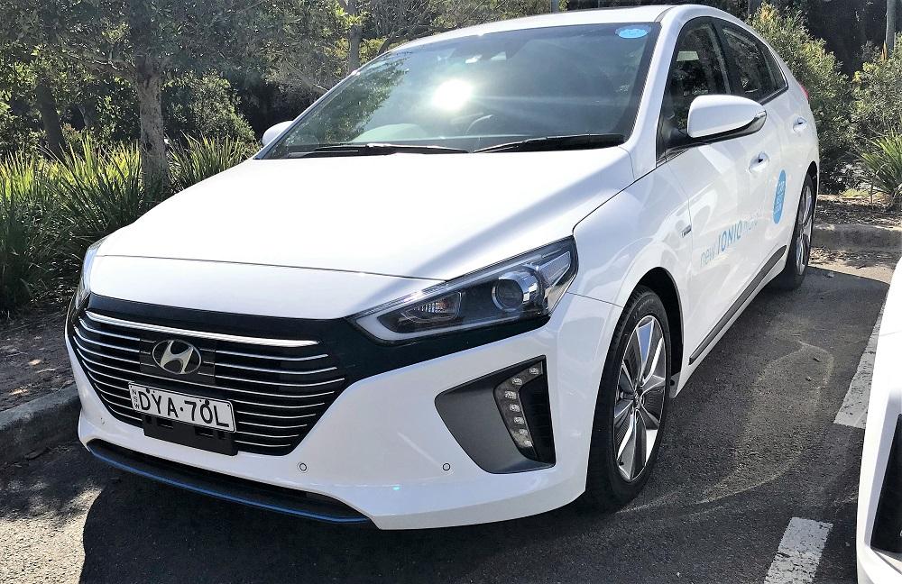 Picture of Hyundai's 2017 Hyundai iONIQ