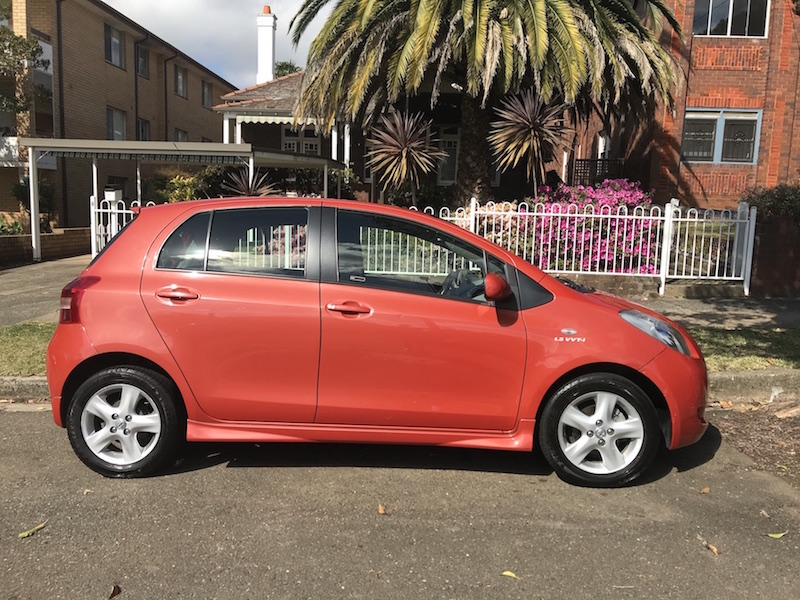 Picture of Helen's 2007 Toyota Yaris