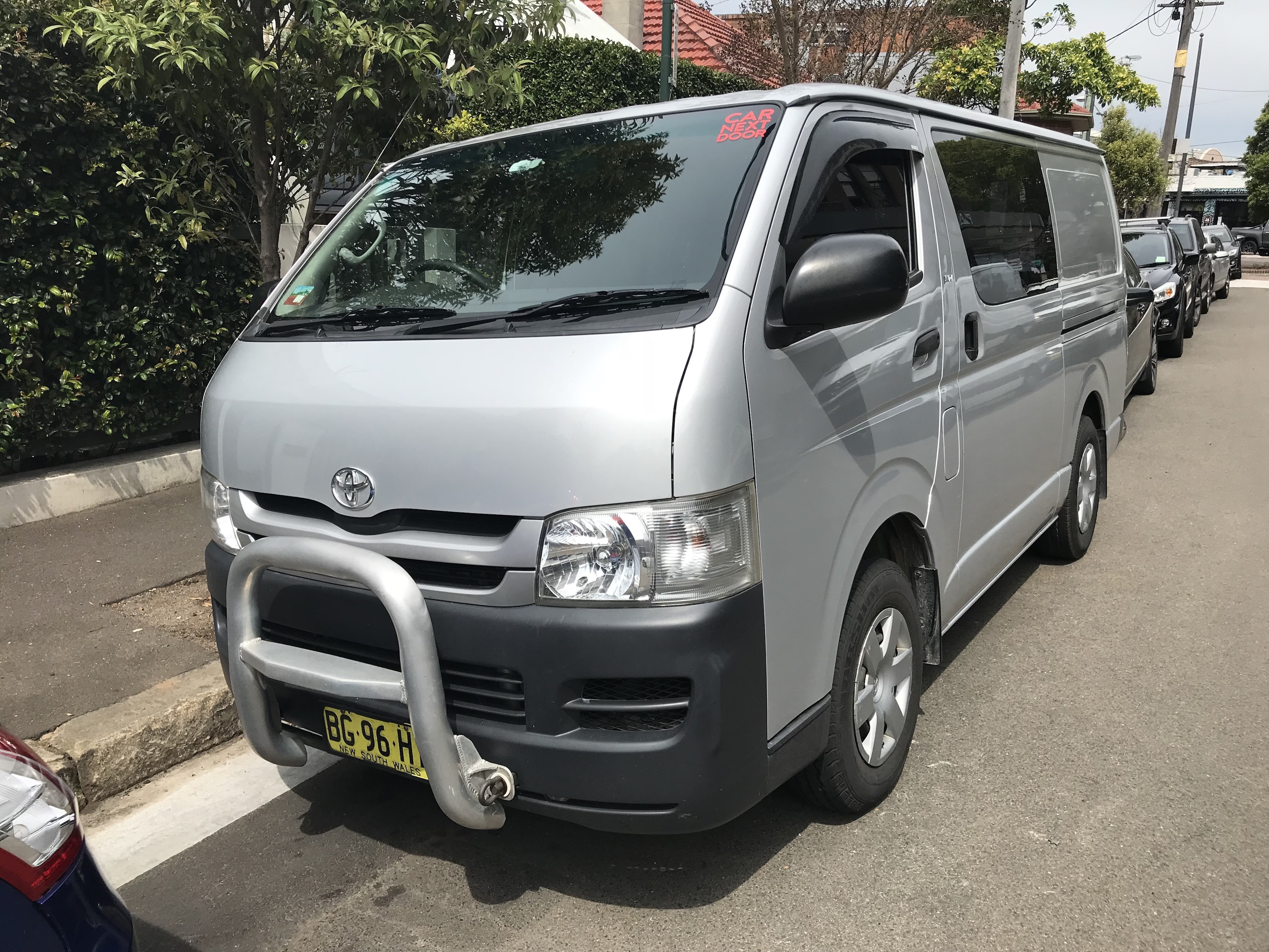 Picture of Jacob's 2010 Toyota HiAce