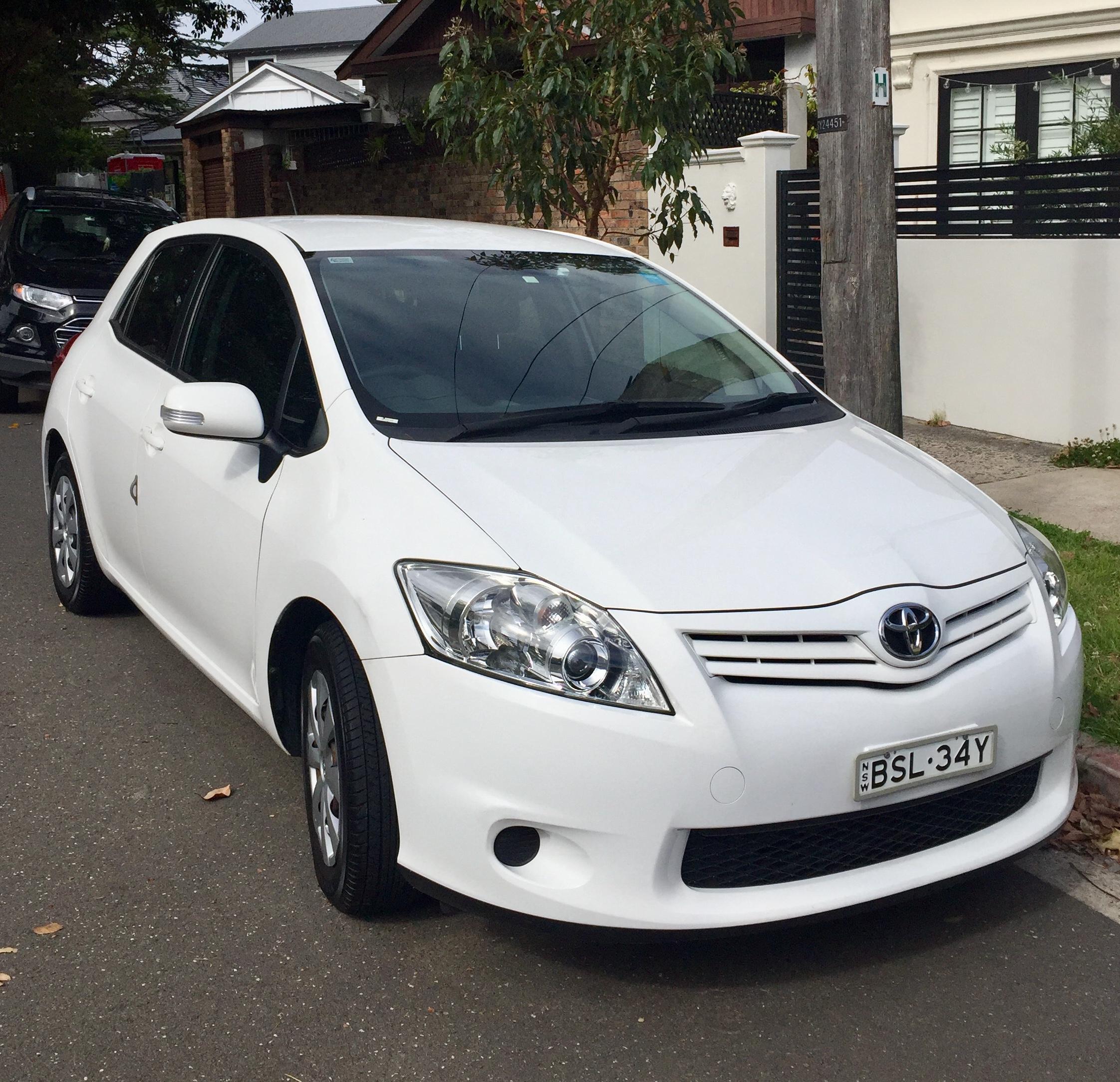 Picture of Kristina's 2010 Toyota Corolla