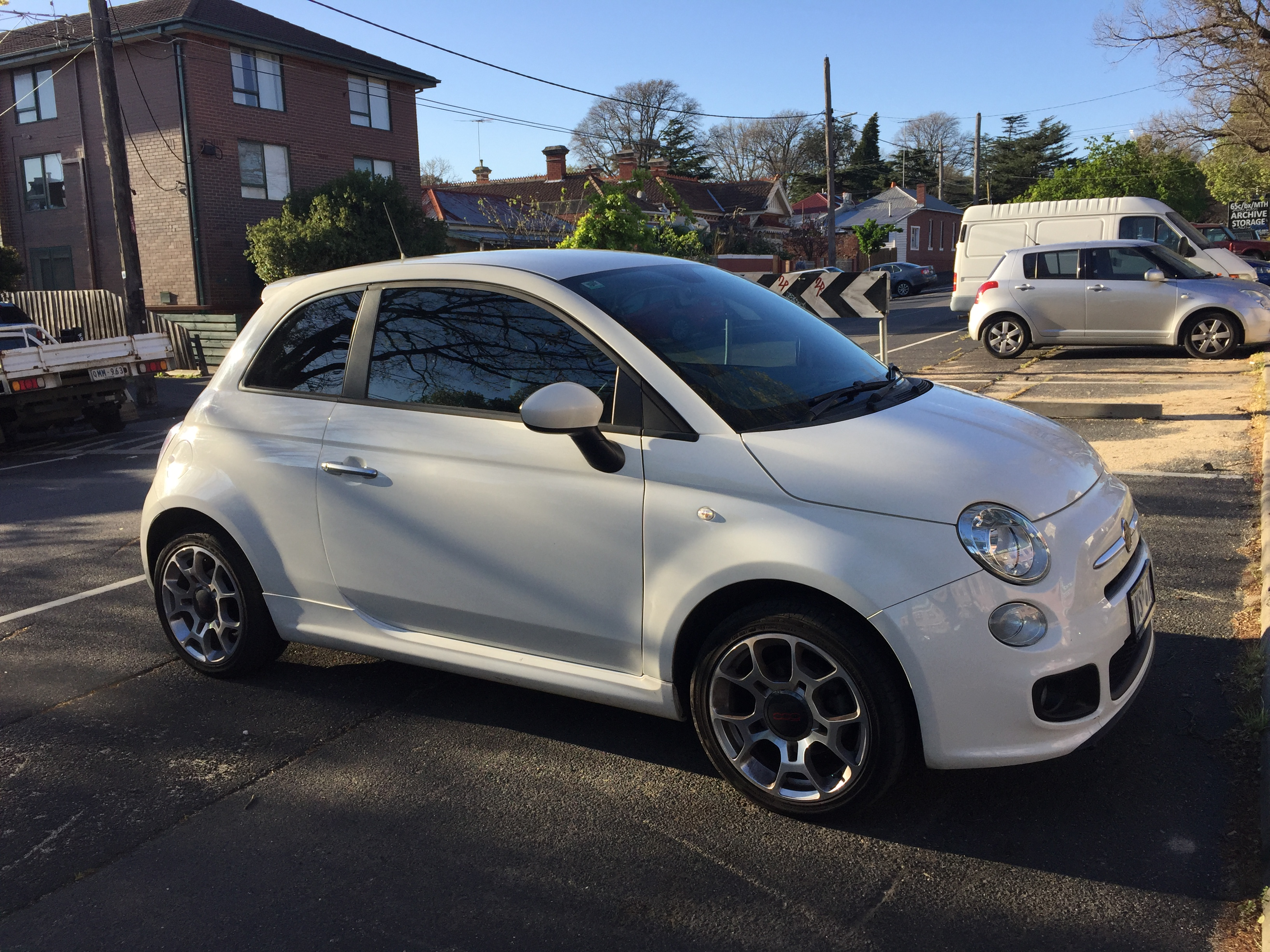 Picture of Gillian's 2013 Fiat 500S