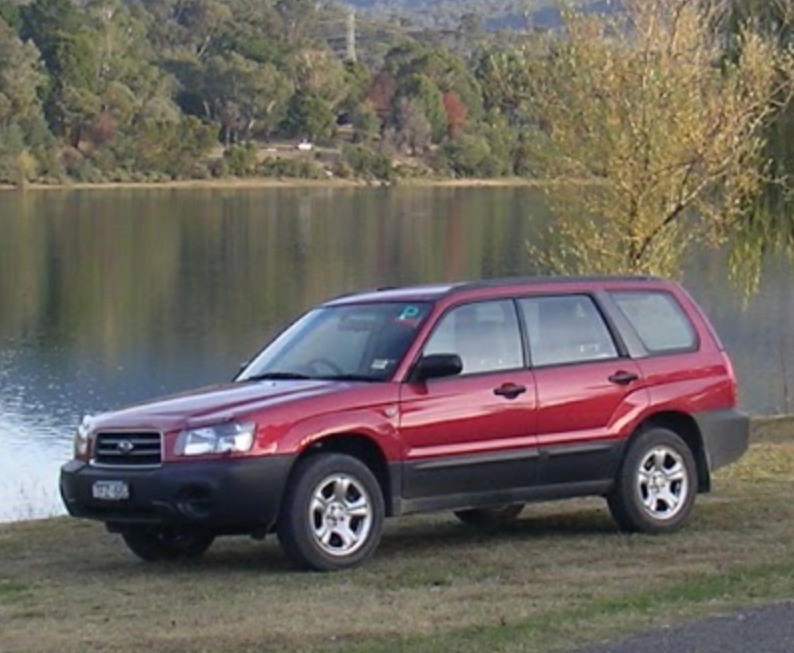 Picture of Simon's 2004 Subaru Forester