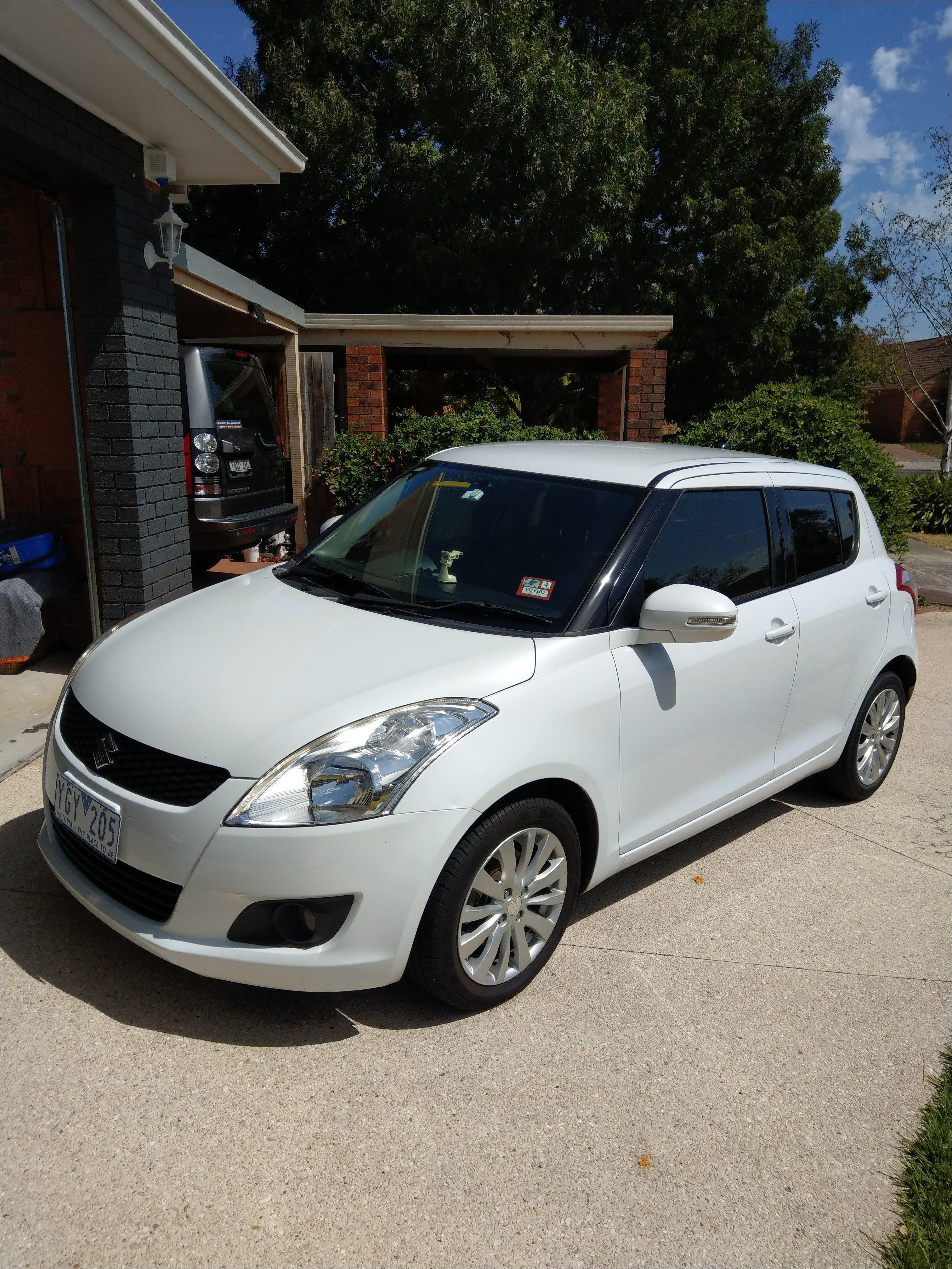 Picture of Wilson's 2011 Suzuki Swift