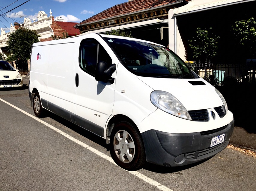 Picture of Keegan's 2012 Renault Trafic