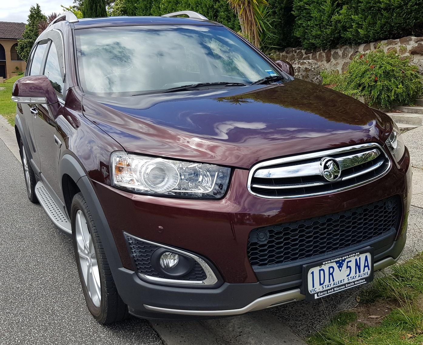 Picture of Atif's 2015 Holden Captiva 7 LTZ CG
