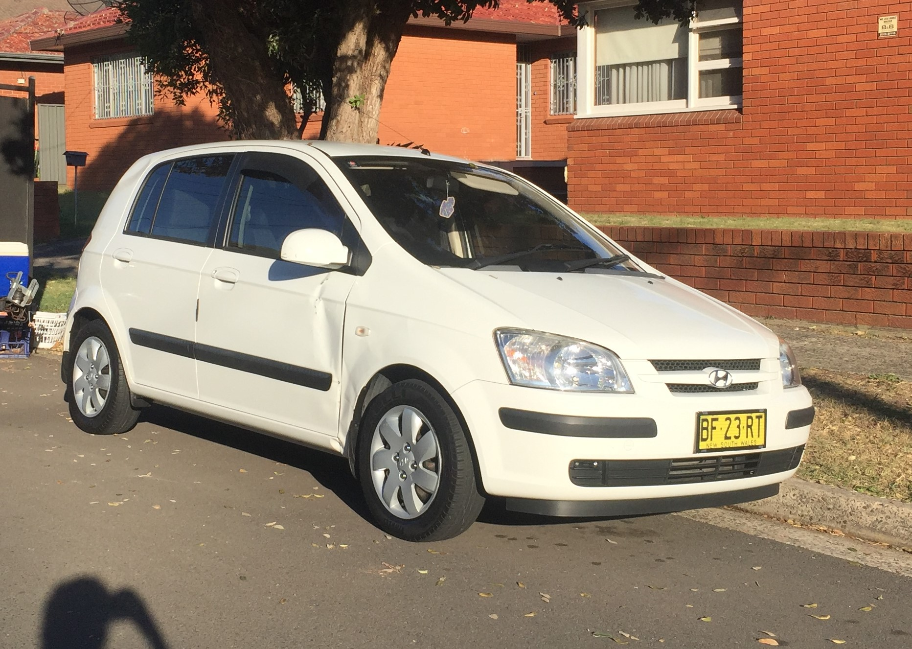 Picture of Kevin's 2004 Hyundai Getz