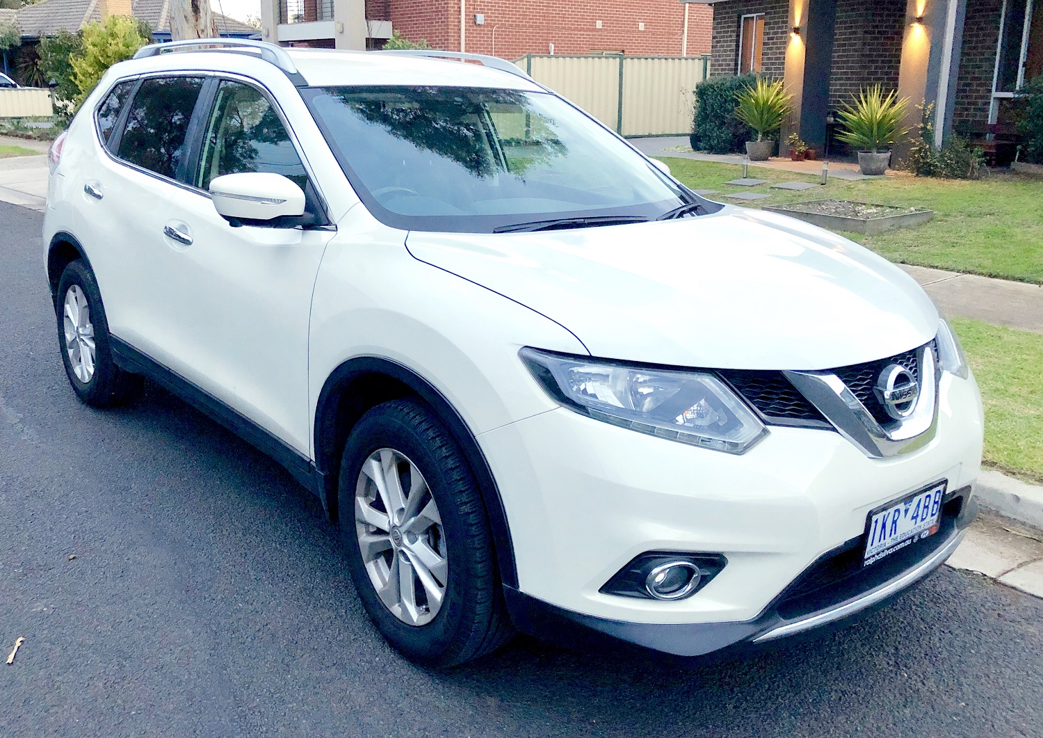 Picture of Han Yu's 2016 Nissan X-trial