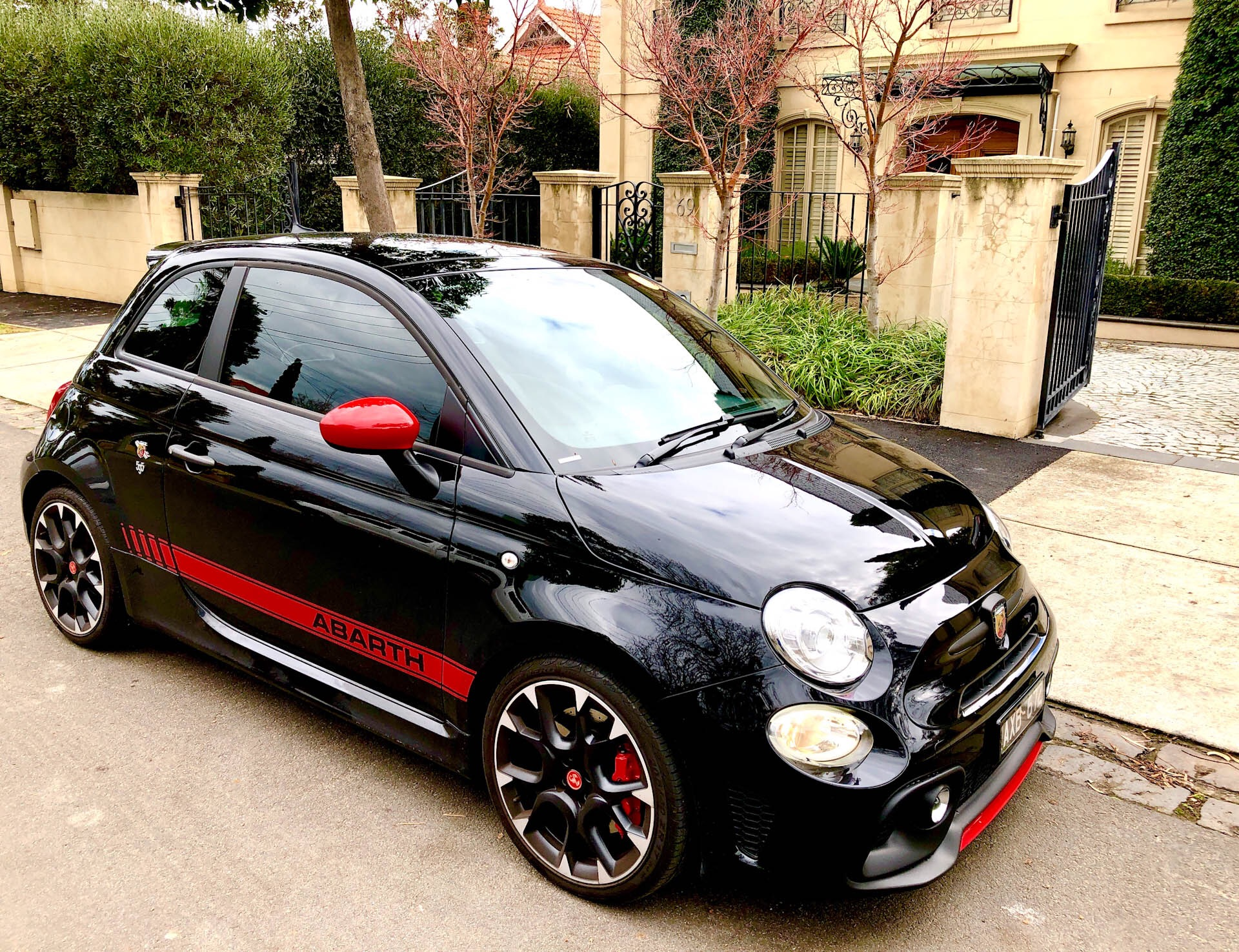 Picture of Peter's 2018 Abarth 595 Competizone